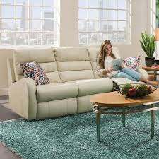 Motion Recliner Sofa by Double Reclining Sofa Without Pillows By Southern Motion Wolf