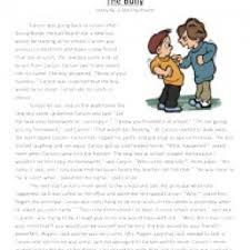 bullying worksheets printable worksheet omega wolf bert gives