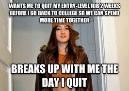 I Quit Meme - livememe com scumbag stephanie