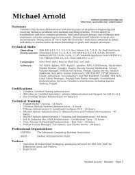 download server administration sample resume network administrator