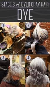 here is every detail on how to dye your hair gray