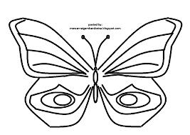 mewarnai gambar mewarnai gambar sketsa hewan kupu kupu 4