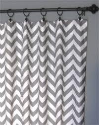 Chevron Pattern Curtain Panels 96 Grey Zig Zag Curtains Two Chevron Curtain Panels