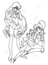 kids fun 66 coloring pages sailor moon