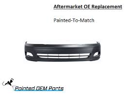 toyota avalon aftermarket parts painted toyota avalon aftermarket oe replacement front bumper cover