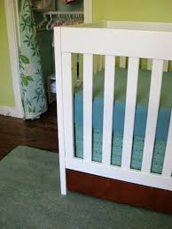 Crib Bed Skirt Diy Diy Make Your Own Crib Skirt