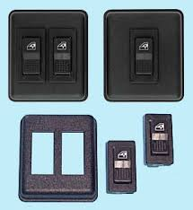 power window switch kits