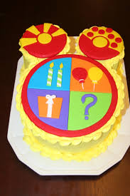 mickey mouse clubhouse birthday cake toodles mickey mouse clubhouse cakecentral