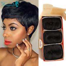 27 pcs hairstyles weaving hair 27 pieces short hair weave with free closure 7a brazilian virgin