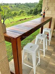 Outdoor Bar Table And Stools Best 25 Outdoor Bar Table Ideas On Pinterest Narrow Entryway
