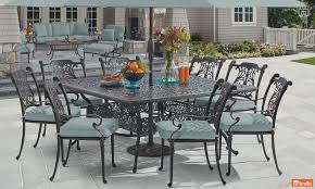 Aluminum Patio Chairs Clearance Patio Furniture Stafford Cast Aluminum Cushioned Patio Dining