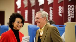Senators Wife Draining The Swamp Mitch Mcconnell U0027s Wife Elaine Chao To Be