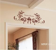 home sweet home decoration sweet home flower wall sticker wallstickerdeal com