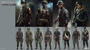 Battlefield Bad Company 2 Artstation Battlefield Bad Company 2 And Vietnam Concept Art