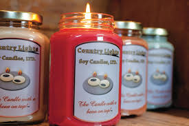 let your light shine with country lights soy candles
