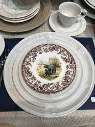 plate exclusives dinnerware woodland spode dinner