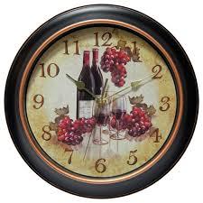 themed wall clock food themed wall clocks houzz