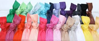 emi hair ties 20 elastic hair ties gift set ribbon hair ties grab bag emi