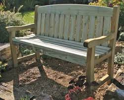 5ft Garden Bench Garden Furniture Challenge Fencing