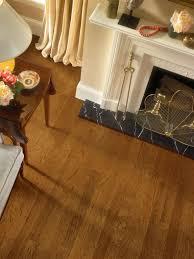 Laminate Flooring Door Threshold Hickory Falcon Brown Ehk84lg Hardwood