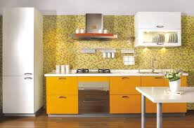 Backsplash Trends 2017 Luxury Kitchen Design For Tiny Layout With Yellow Drawers And