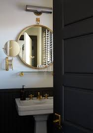 Hotel Bathroom Mirrors by Gold And Black Bathroom The Dean Hotel Providence Rhode Island