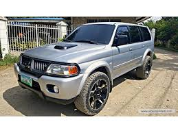 for sale mitsubishi montero sport gls 4x4 local automatic