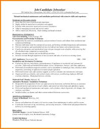 Sle Resume Electrical Worker maintenance resume sle building manager exles maintenance