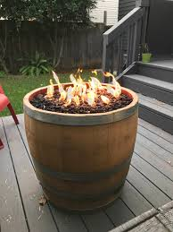 wine barrel fire table diy wine barrel fire pit album on imgur