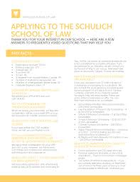 How To Write An Activities Resume For College Admission U0026 Requirements Schulich Of Law Dalhousie