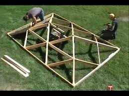 Hip Roof Trusses Prices World U0027s Fastest Wooden Hip Roof Really Interesting Folding Roof