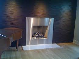 home decor new metal fireplace surround interior design for home