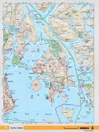 Back Road Maps Vibc43 Topo Cortes Island
