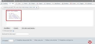 query membuat tabel di sql contoh cara membuat tabel perintah sql query create table