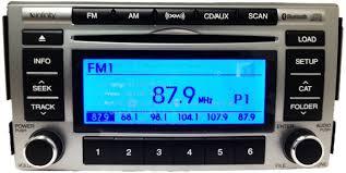 hyundai santa fe bluetooth santa fe 2009 2012 cd6 mp3 xm bluetooth infinity radio