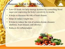 low glycemic index food chart for good health
