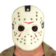 Jason Halloween Costume Party Jason Voorhees Costume Size Friday 13th
