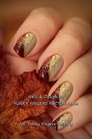autumn leaf nail stencils leaves autumn and manicure