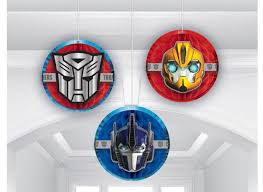 transformer decorations transformers party supplies sweet pea