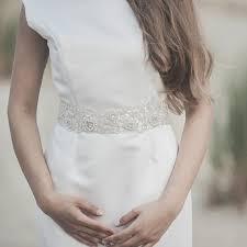 bridal sash wedding dress belt ivory pearl and sequins beaded