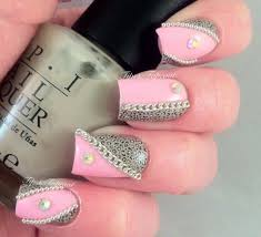 30 rhinestone nail design rhinestone nail art designs photos