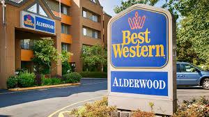 Map Of Alderwood Mall Best Western Alderwood Lynnwood Washington