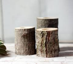 Rustic Home Decor by Rustic Log Candle Holder Rustic Home Decor U2013 Gft Woodcraft