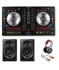 pioneer home theater systems pioneer ddj sb2 dj starter bundle deal the dj hookup