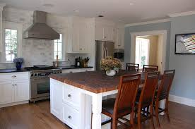 black butcher block kitchen island custom walnut butcher block countertop ridgewood jersey