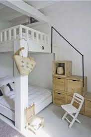 Plans For Building A Loft Bed With Stairs by Bunk Beds With Staircase Foter