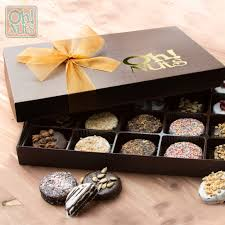 cookie gift boxes handmade chocolate cookie gift box 10 variety 20 ct gourmet