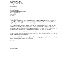 resume cover letter exle general sle of a general cover letter for resume adriangatton