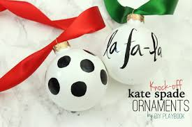 how to create a knock kate spade ornament for your tree