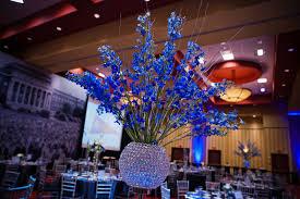 blue centerpieces royal blue wedding centerpieces wedding photography